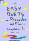 recorder and piano duets